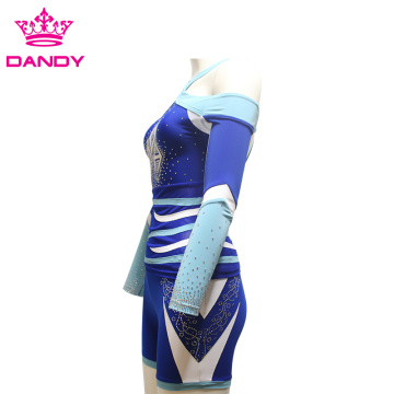 Sublimering som skriver ut cheerleadinguniform for ungdom