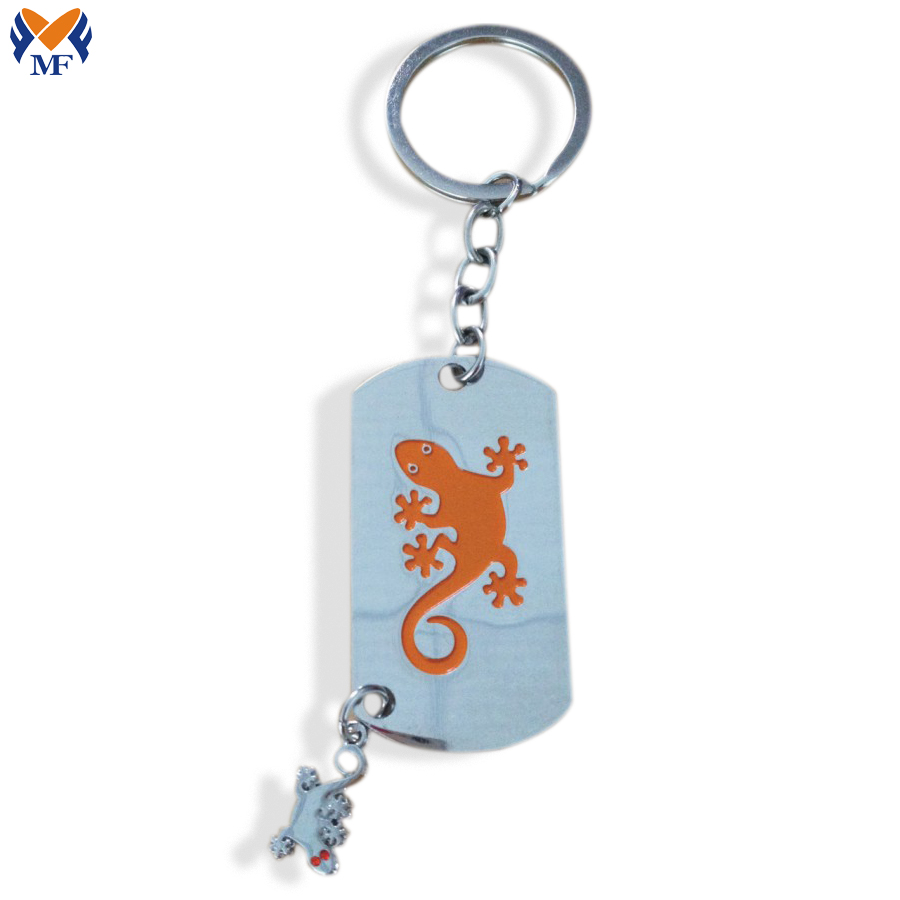 Name Tag Key Chain