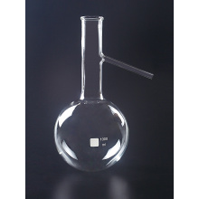 China for Reagent Bottle Clear Distilling Flask with Side Tube supply to Palestine Manufacturers