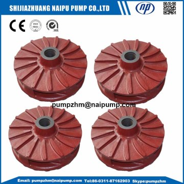 AH slurry pump wet parts impellers