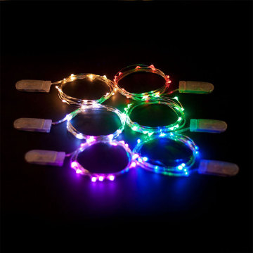 Warm White Colored LED Indoor Outdoor String Lights