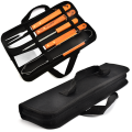 5PCS BBQ Set avec 600D Sac Oxford