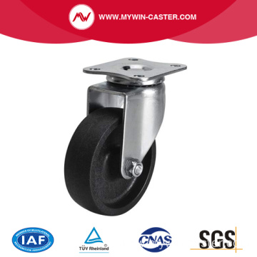 Mini 2.5 Inch 35Kg Plate Swivel PO Caster