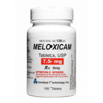 is meloxicam good for back pain