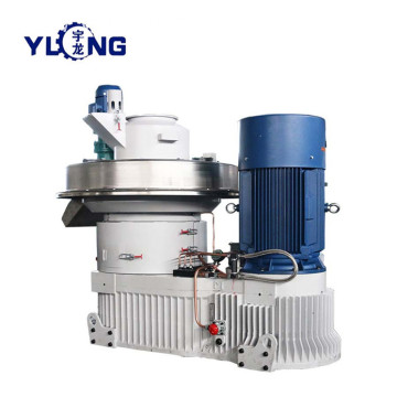 YULONG XGJ560 wood shavings pellet manufacturing machine