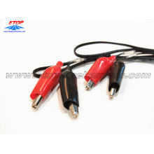 Good Quality for Medical Diagnostic Cable alligator clip cable assemblies supply to Germany Suppliers