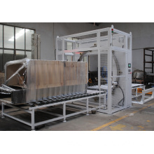 Horizontal stretch wrapping machine packing machine