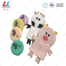 Animal 3D bath gloves