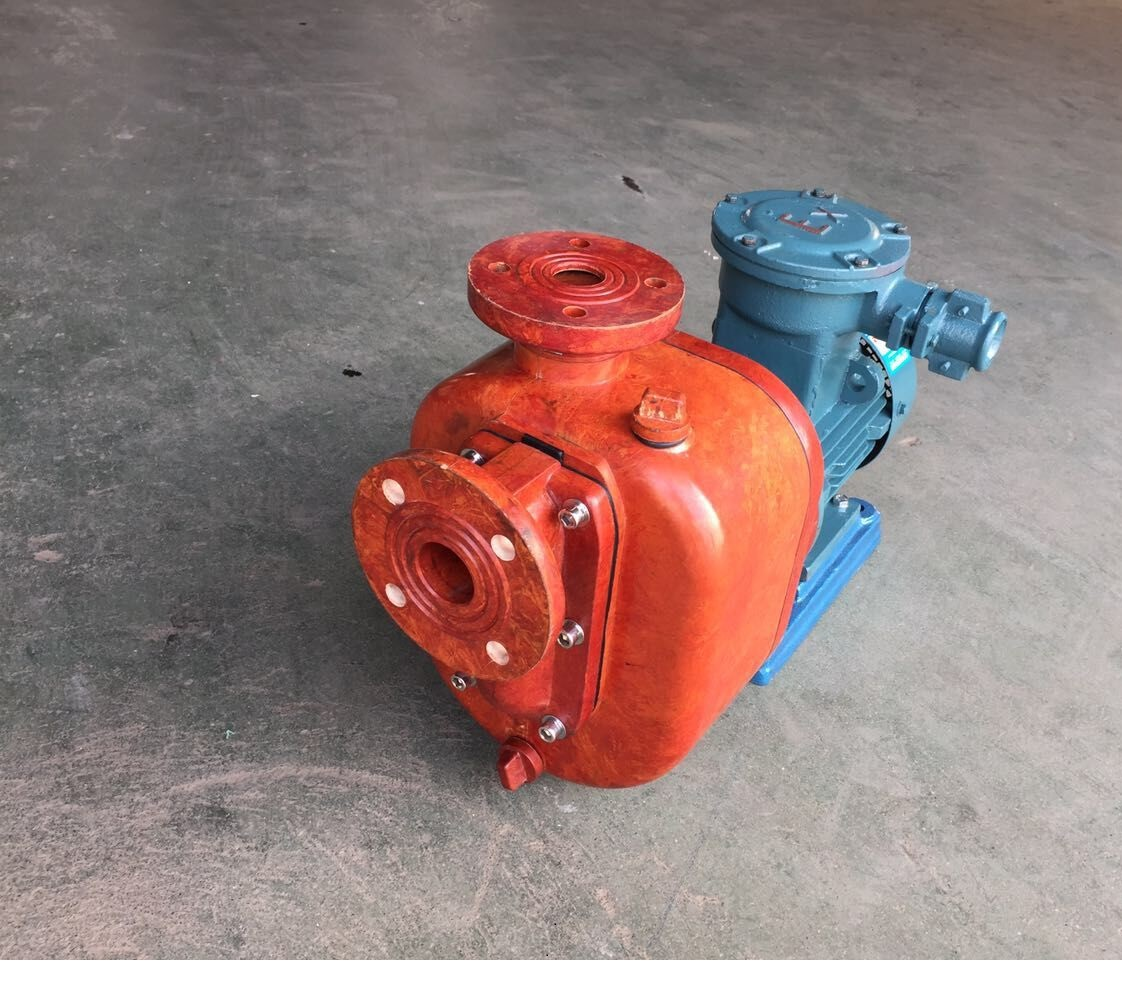 ZS type FRP self-priming pump 2
