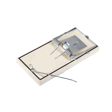 Sturdy Wooden Rat Trap with Metal Peddle