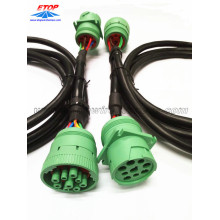 Customized for Best Vehicle Diagnostic Cables,Diagnostic OBD Cable,Heavy Vehicle Diagnostic Cables Manufacturer in China J1939 Female Type II to male connectors export to France Suppliers