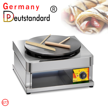 commercial new crepe maker with factory price
