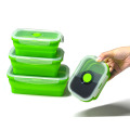 Wholesale Leak Proof Silicone Lunch Box 4pack