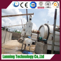 waste tyre pyrolysis carbon black and fuel oil