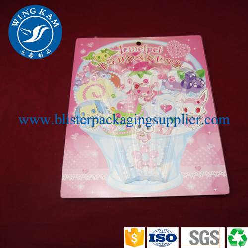 Quality New Design Clear Plastic Card Bliater Packaging