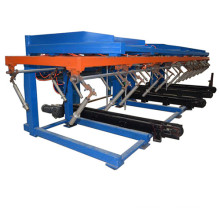 Automatic roll forming machine stacker