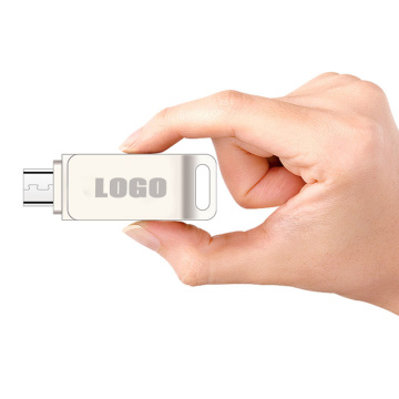 Custom Mini Swivel Metal Otg Usb Flash Drive