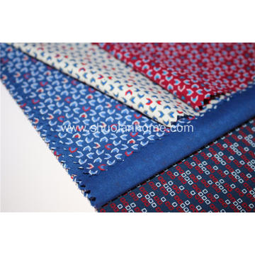 Formal Poplin Shirt Fabric With Printed