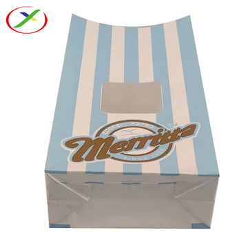 colourful print sos handle paper bag