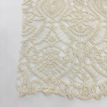 Special Technology Cotton Yarn Guipure Embroidery Fabric