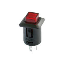 LED Light Power Momentary Push Button Switch