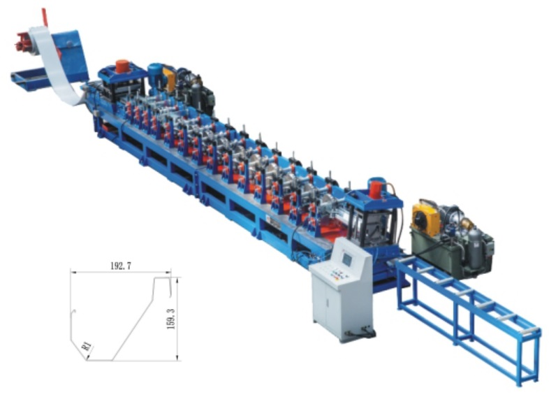 Poultry Feeding Roll Form Machinery