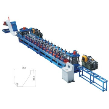 Poultry Feeding Trough Roll Form Machinery