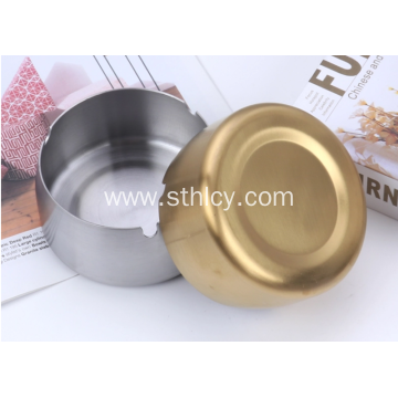 Stainless Steel Unbreakable Modern Smoking Ashtray