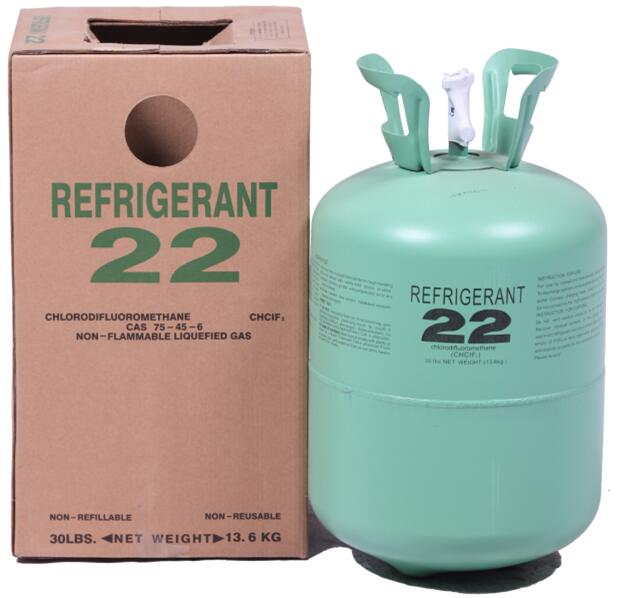 R22 Refrigerant -13.6kg packing R22 refrigerant for sale