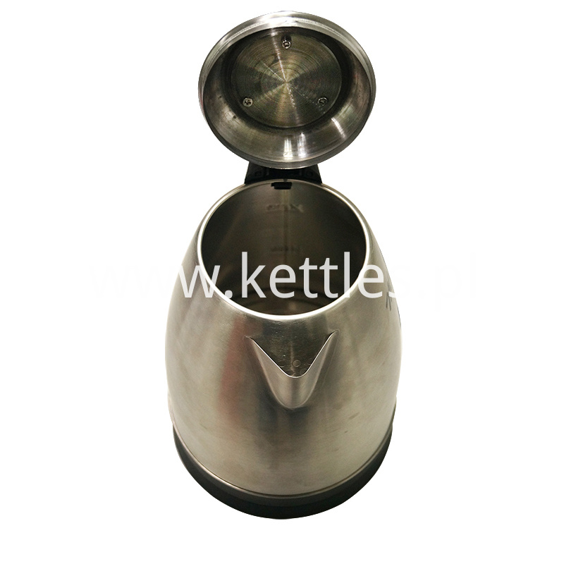 water kettle with capacity