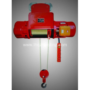 CD1 electric cable wire rope hoist 12.5T