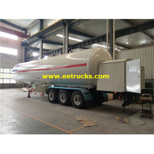 60000 Liters LPG Dispensing Tank Trailers