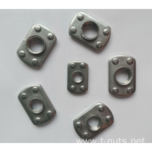 Stainless steel Auto Flat Plane Weld Nuts