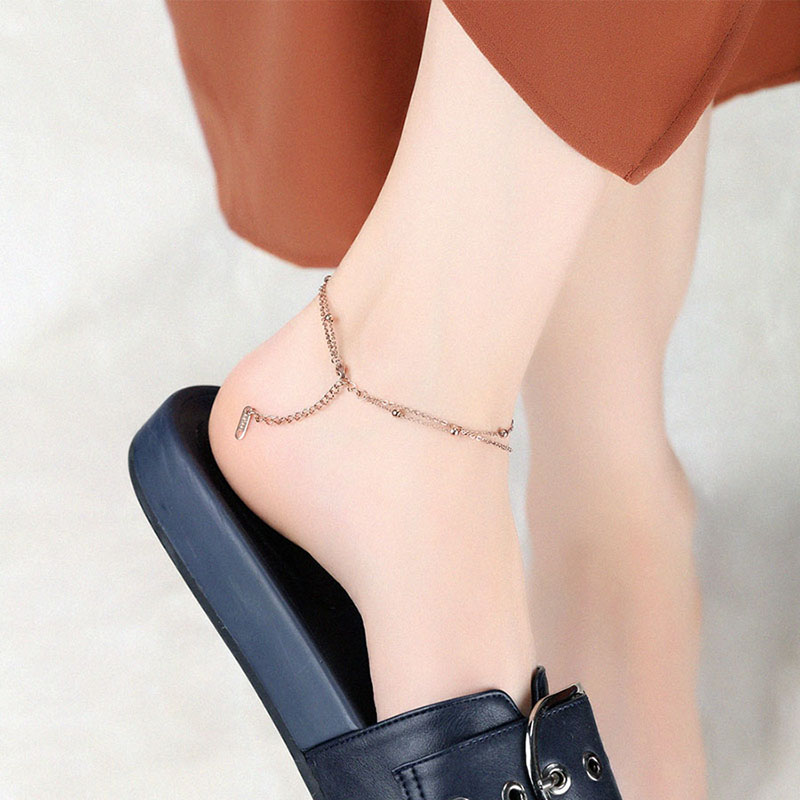 Gold Ankle Chain