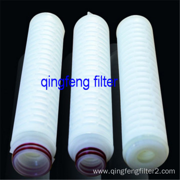 Water Filter Cartridges PTFE  Pleated Polymer Membrane