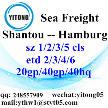 Shantou Shipping Services to Hamburg