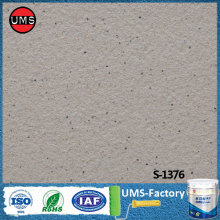 Spray on stone effect wall paint for concrete