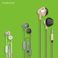 Wired noise cancelling earphones