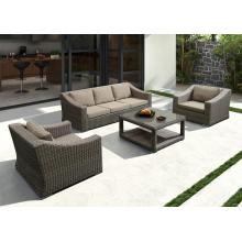 Leading for Garden Outdoor Sofa Modern Aluminium PE Rattan Sofe Set Furniture supply to India Factories