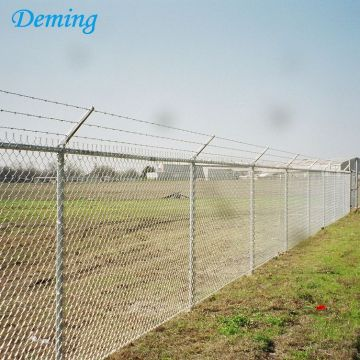 6feet PVC Coated Chain Link Wire Mesh Fence
