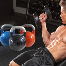 Vinyl Coated Steel Standard Kettlebell for man training