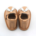 Special Genuine Leather Fish mouth Baby Kids Sandals