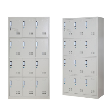 Supermarket furniture 12 Door Metal storage locker