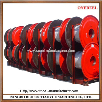 China for Drawing, buncher and stranding, steel, copper or aluminum wire application 450 Modle Automatic loading Chain spools supply to India Wholesale