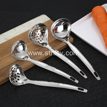 Stainless steel love soup spoon
