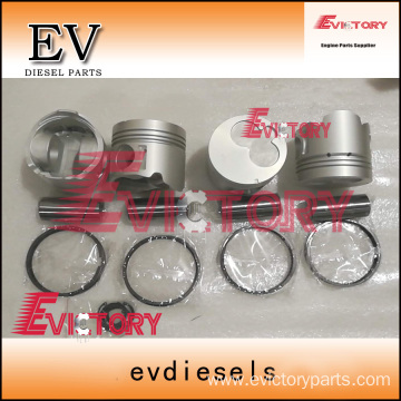 ISUZU engine parts piston 4JG2 piston ring