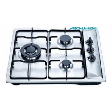 3 Burners Stainless Steel Gas Hob