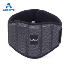 Holiday sales for Waist Sweat Wrap Adjustable Lower Back Support Weight Lifting Belt export to Poland Factories