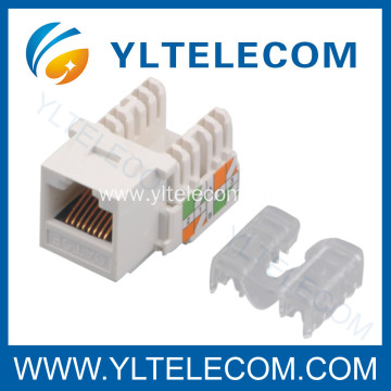 Supplier for Rj45 Keystone Jack Cat.5e RJ45 Keystone Jack UTP supply to Sweden Exporter