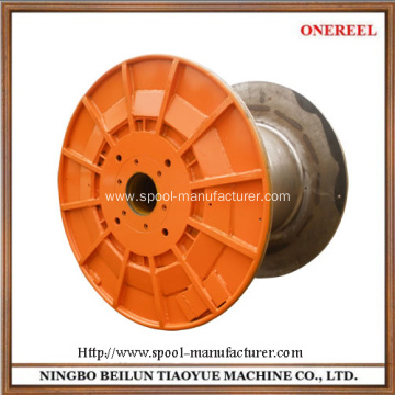 industrial electric fiber optic cable spool